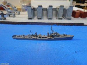 Neptun 1340C US Light Cruiser Miami 1945 1//1250 Scale Model Ship